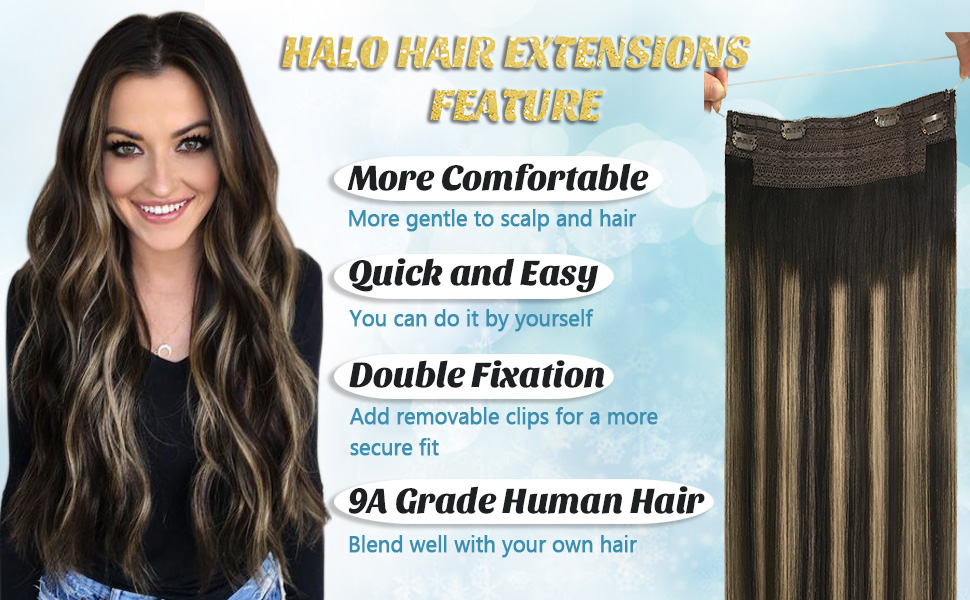 Why Choose Wear to Halo hair Extensions?