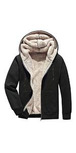 Sherpa Lined Full-Zip Hoodie