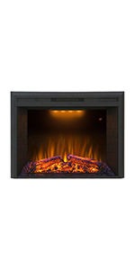 """Valuxhome 36"""" Electric Firplace"""