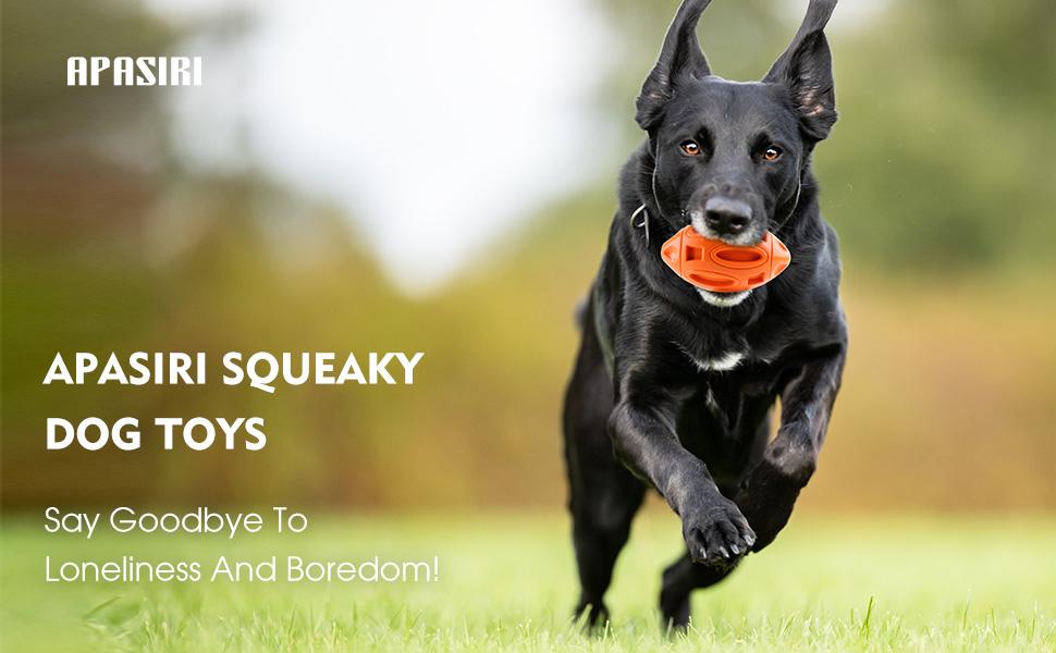 APASIRI SQUEAKY DOG TOYS