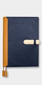 手帳カバー A5 ホワイトライン
