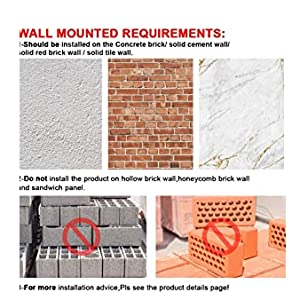 Wall Mounted Requirements