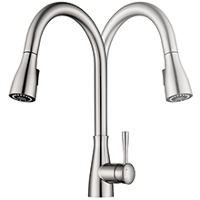 spout 360 degree rotation kitchen sink faucet