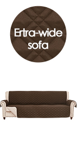 extra wide sofa oversized couch cover