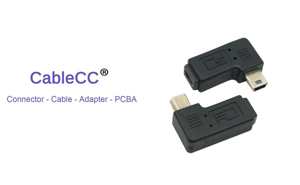 Mini USB 2.0 Male to Female Extension Adapter