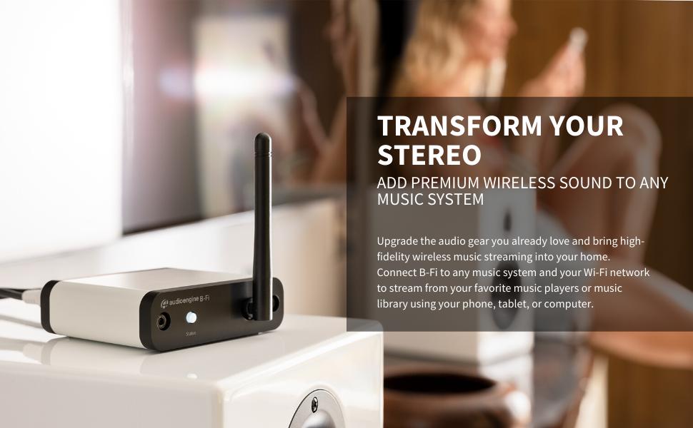 Audioengine B-Fi Transform Your Stereo