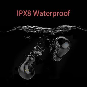 ipx8 waterproof headphones