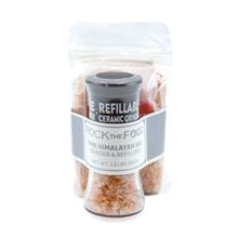 Coarse Grain Pink Himalayan Rock salt combo bag with grinder
