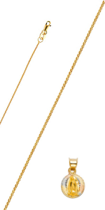 faith pendant necklaces chains coin charms Dainty Round Circle Necklace Jewelry Gift for Women