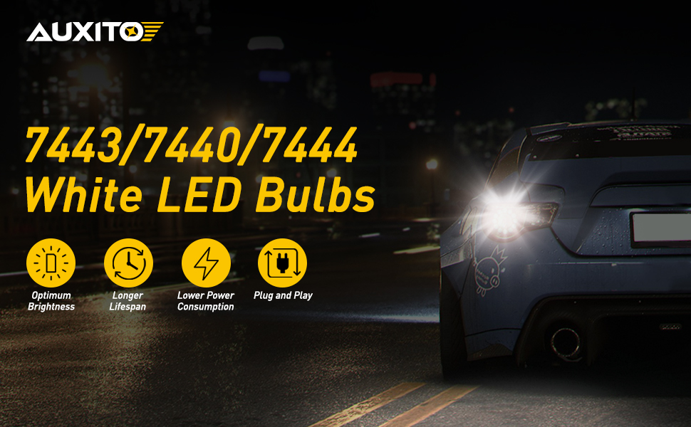 7443 led bulbs white