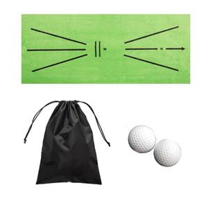 golf training mat for swing detection