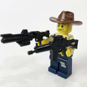 Brick Loot MEGA LEGO Minifigure Weapon Accessory Pack Minifig Not Included