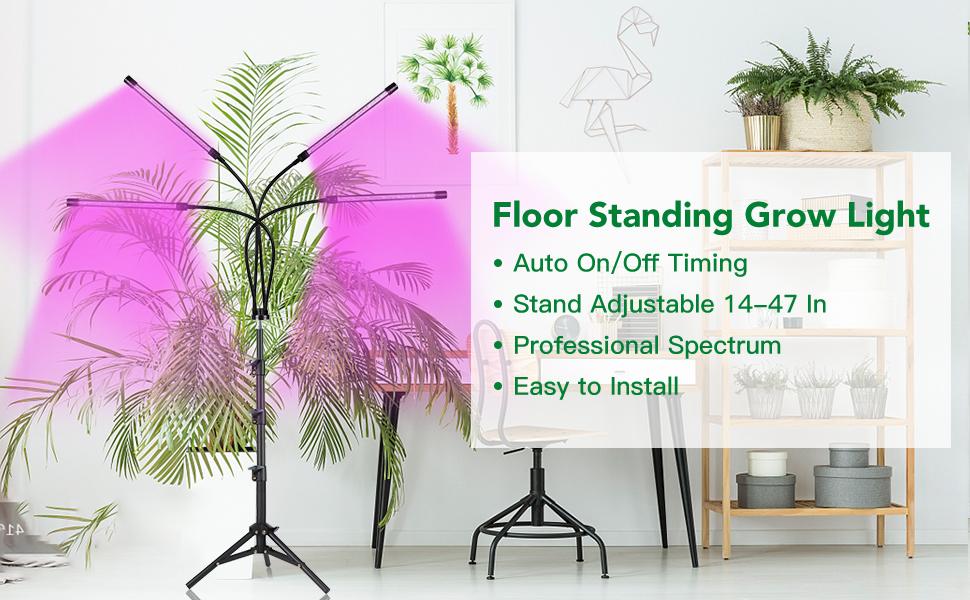 indoor plant grow lamp