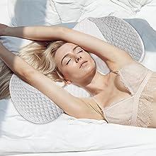 back sleeping,posture pillow,angel sleeper,snoring pillow,best gift for woman