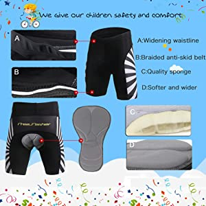 3D Padded Shorts