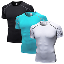 men's compression shirts short sleeve