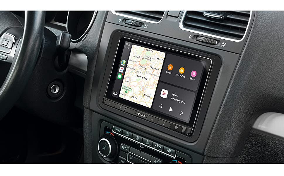 Zenec Z-N528. Autoradio mit Apple CarPlay und Android Auto