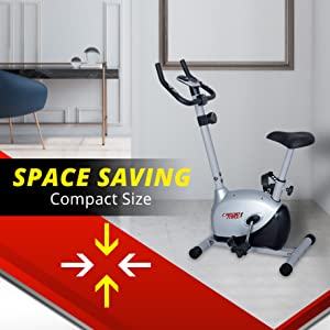 space saving exercise cycle