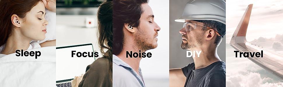 Sleep, Focus, Noise, travel