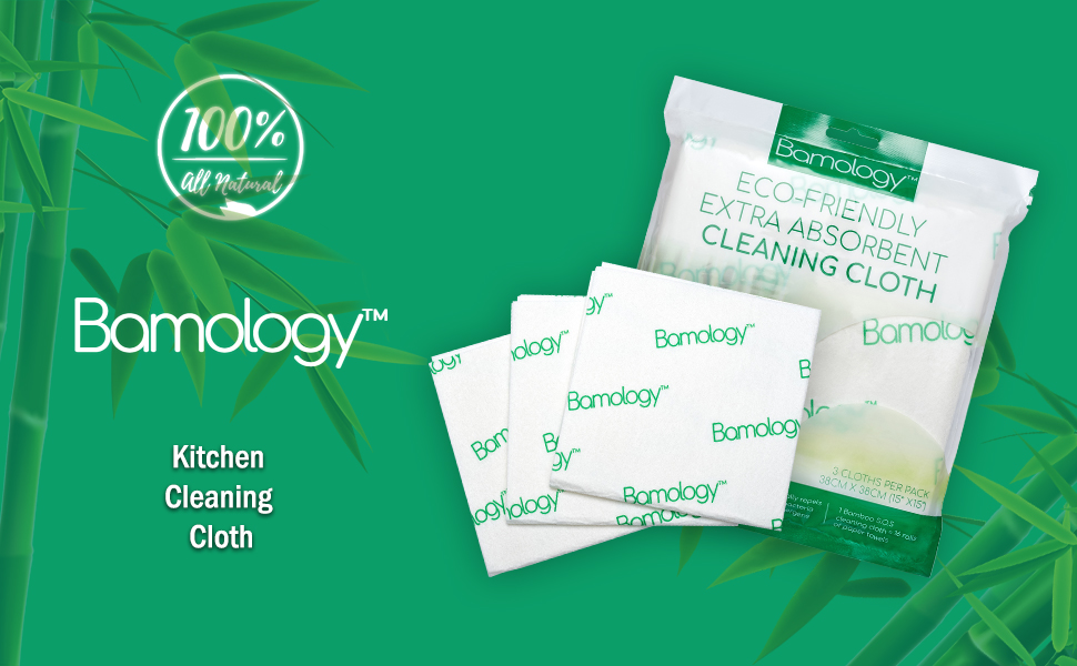bamology cleaning cloth, kitchen cloth