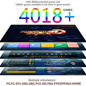 4018 Juegos Incluidos