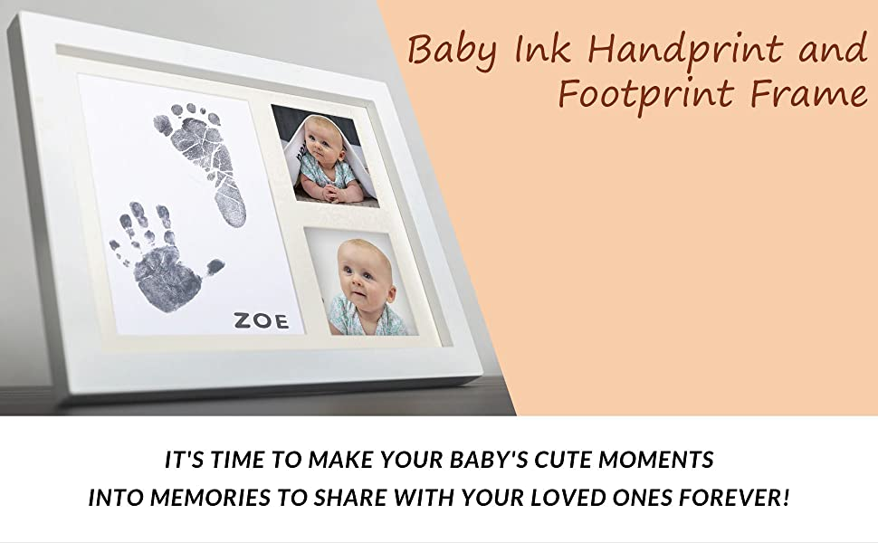 fingerprint month set babyprints useful stamp clay custom skin light big day paw feet first year