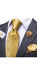 gold  tie laepl pin