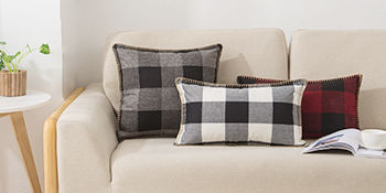 buffalo plaid farmhouse pillow covers