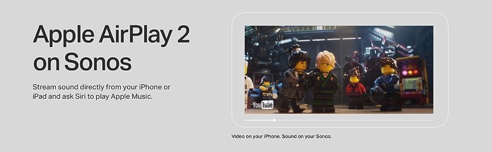 Apple AirPlay 2 on Sonos