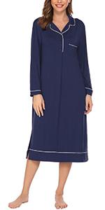 Ekouaer Long Nightgowns for Women