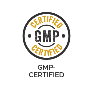 GMP-certified facility