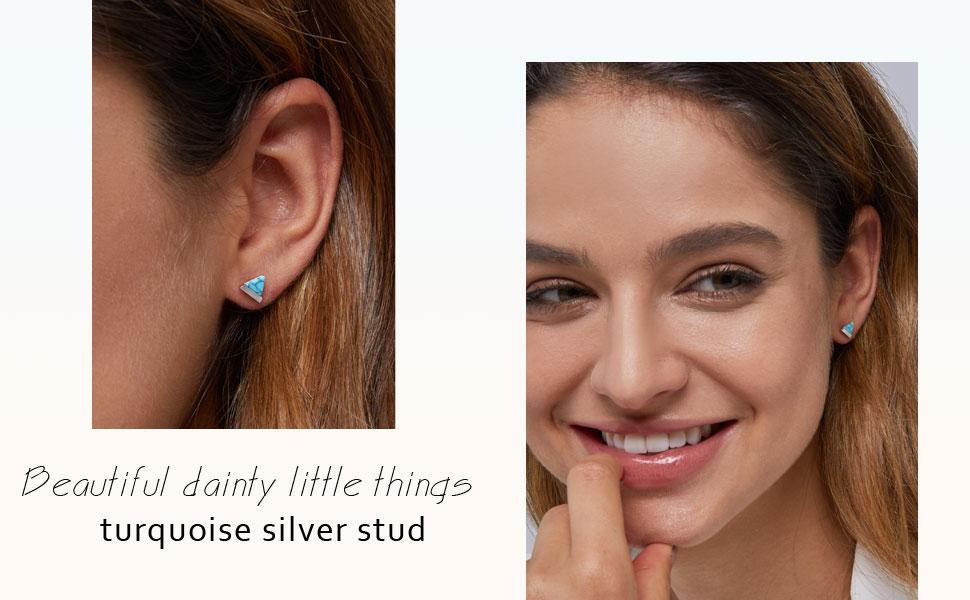 turquoise earrings for women