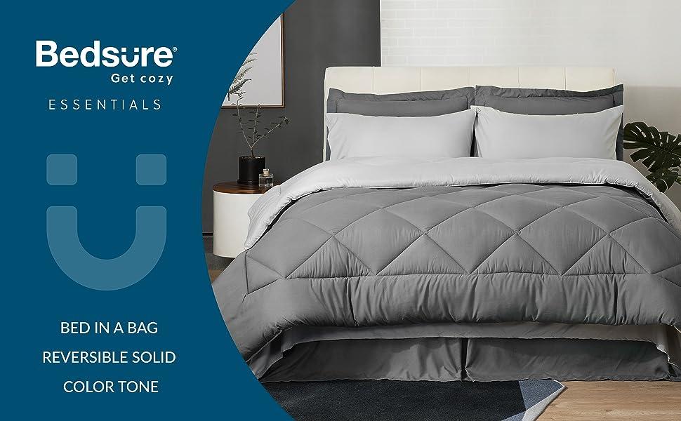 Grey Bed in a Bad