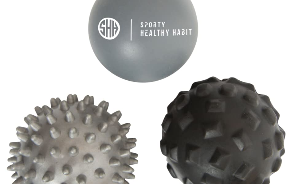Massage Ball Therapy Ball Deep Tissue Massager Myofascial Release Mobility Ball Exercise Recovery