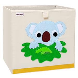 Toy animal storage box chest