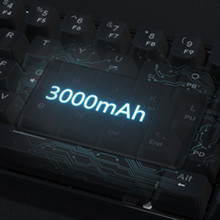 KEMOVE 60% mechanical keyboard 61 keys RGB big battery capacity 3000mAh 1900