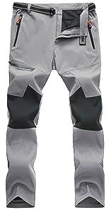 softshell pants men skiing pants men warm pants men winter pants men snow ski pants men