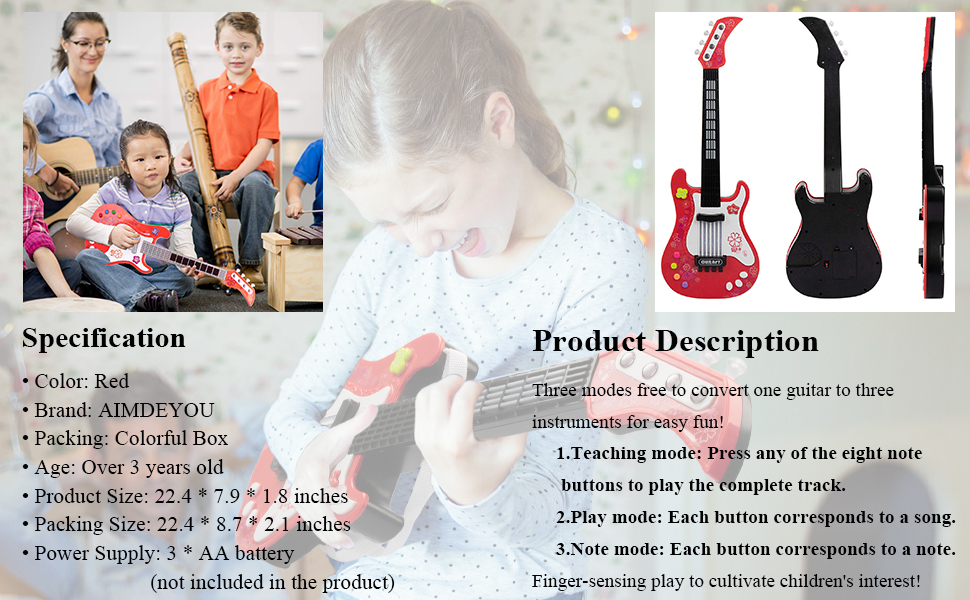 Electric Guitar Toys
