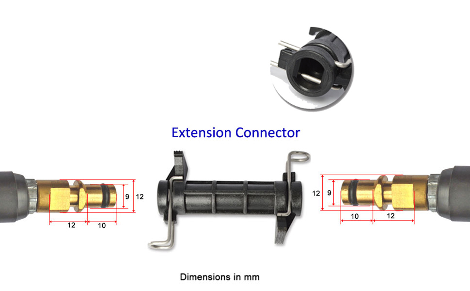 6m Pipe Cleaning Line Extension For Connection To Karcher High Pressure Cleaners