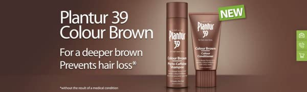 Plantur 39 Hair Loss Shampoo Brown