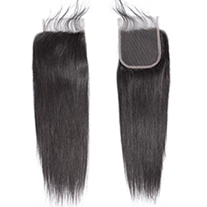 Brazilian Virgin Hair Straight Hair Bundles With Closure
