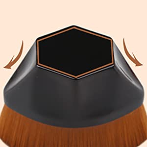 Pincel oval