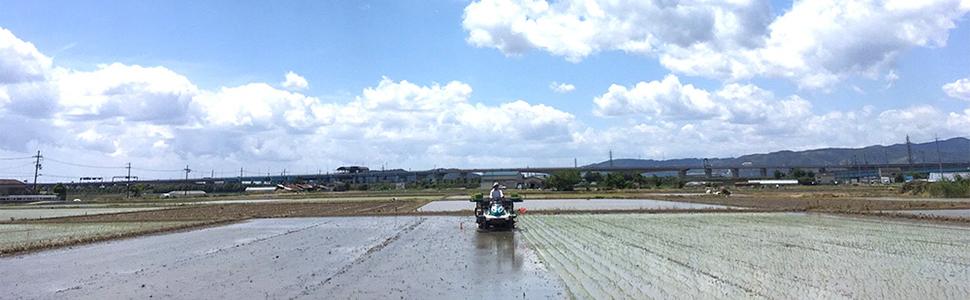 土からつくる。 優しく育てたお米でつくった米粉。