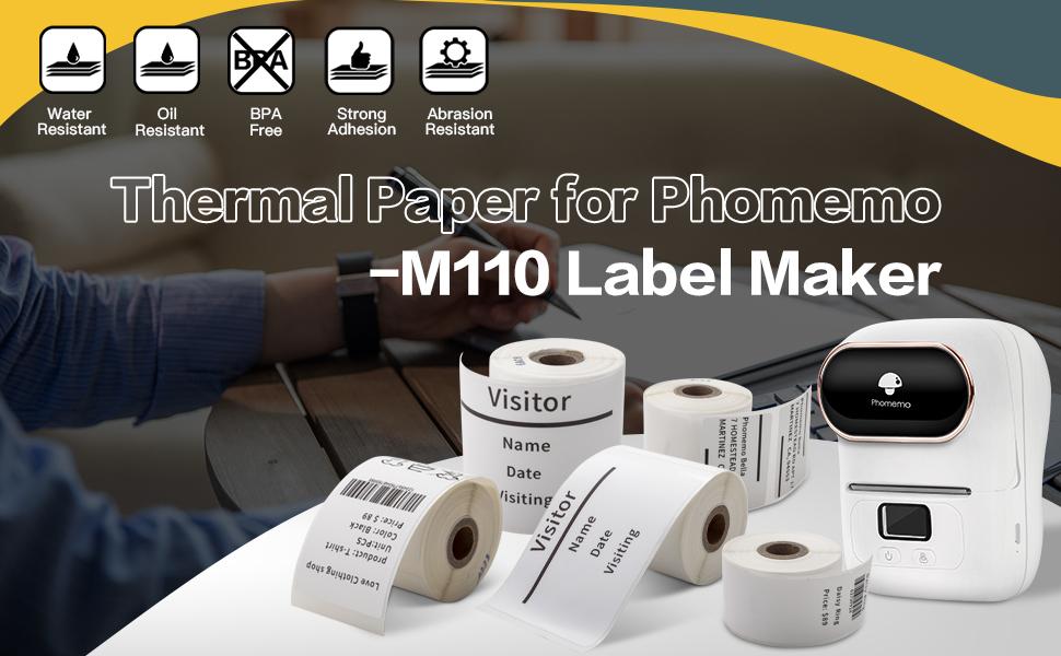 phomemo m110 label maker