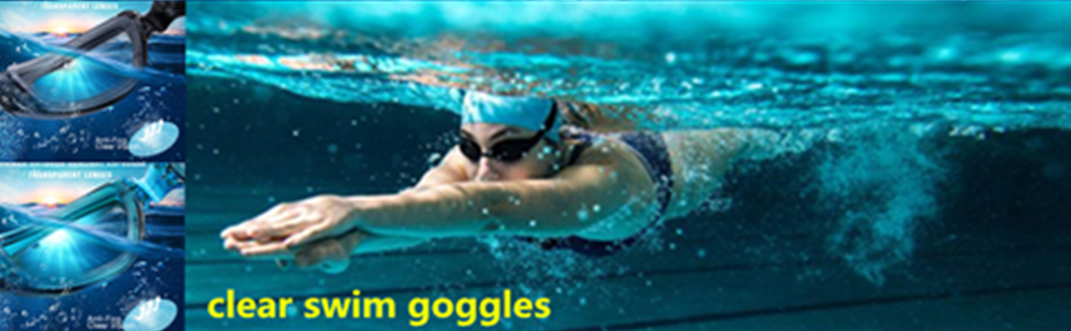 clear swim goggles,swimming goggles best for men women youth kids
