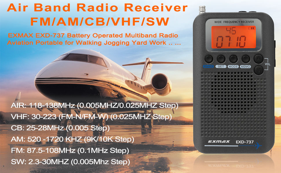 AIR BAND RADIO RECEIVER