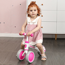 rose red baby balance bike