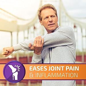 joint pain inflammation knee hip back wrist hand stiffness flexibility arthritis chronic golden milk