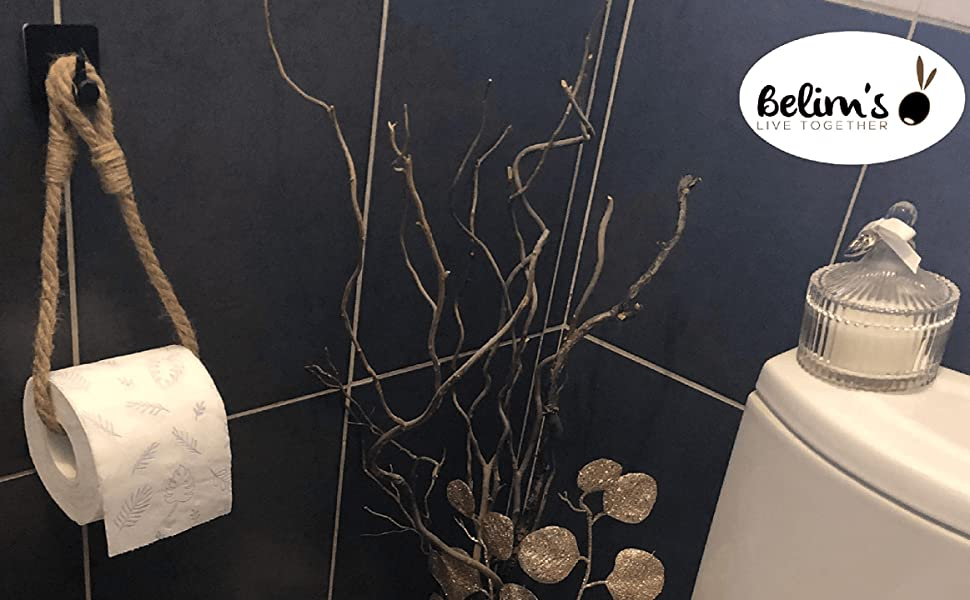 Porte papier toilette adhésif mural support pq dérouleur distributeur de papier wc autoadhésif wc pq
