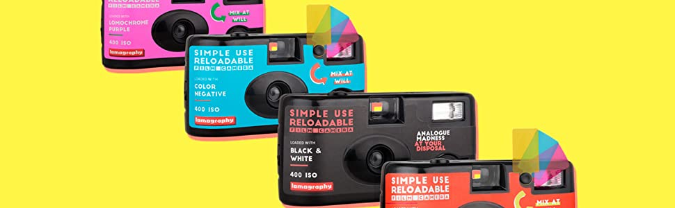 simple use reloadable film camera lomography